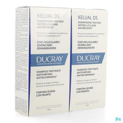 Ducray Kelual Ds Sh A/roos Duo 2x100ml Nf