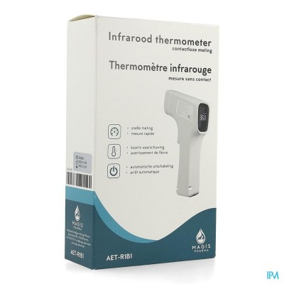 THERMOMETER IR CONTACTLOOS DIGITAAL