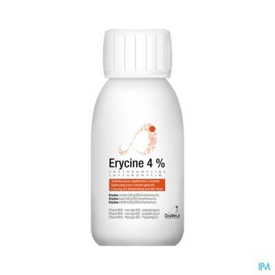 ERYCINE 4 % SOL APPLICATION CUTANEE 100 ML