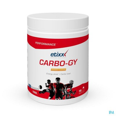 Etixx Carbo Gy Orange Pdr Pot 1000g
