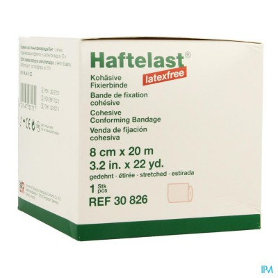Haftelast Coh. Windel Latex Free 8cmx20m 30826