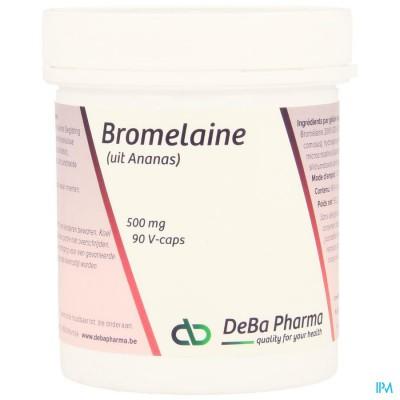 Bromelaine 500mg V-caps 90 Deba