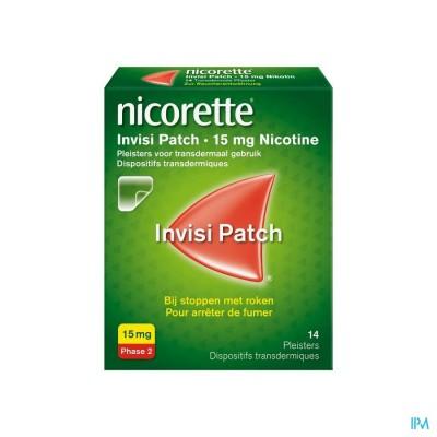 Nicorette Invisi 15mg Patch 14