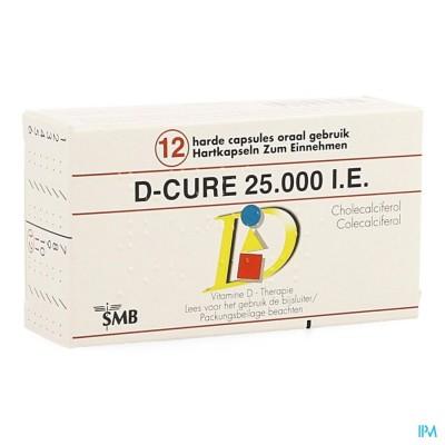 D Cure 25000ie Gelulen 12