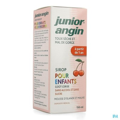 Junior Angin Siroop 150ml