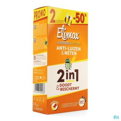 Elimax Lotion Tegen Luizen 2x100ml