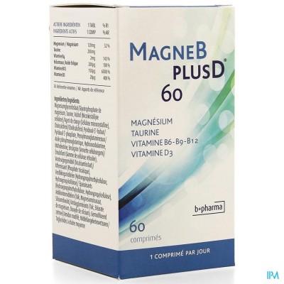 MAGNE B PLUS D TABL 60 NF