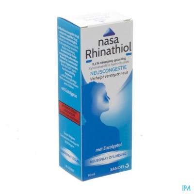 Nasa Rhinathiol 0,1% Fl Microdos 10ml Ad