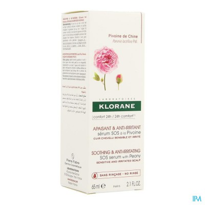Klorane Capil. Spray Sos Irrit.pivoine 65ml