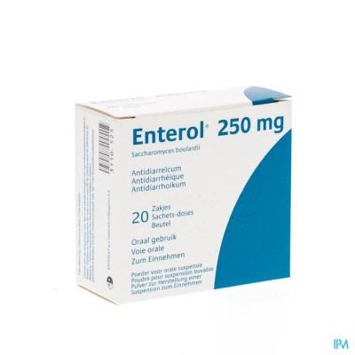Enterol 250mg Pi Pharma Pdr Zakje 20 X 250mg Pip