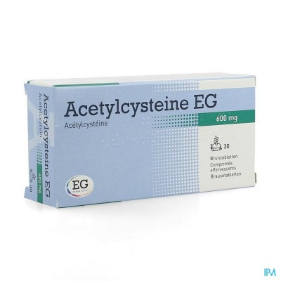 Acetylcysteine Eg 600mg Bruistabl 30x600mg
