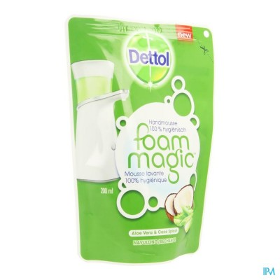 Dettol Foam Magic Aloe Vera/coco Splash Nav. 200ml