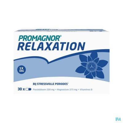 Promagnor Relaxation: Magnesium 350mg & Passiflora 200mg & Vitamine B 4mg (30 caps)