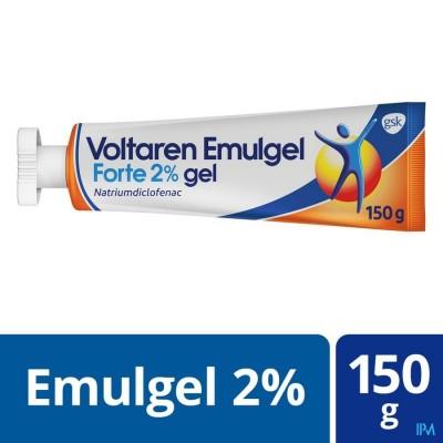 Voltaren Emulgel Forte 2 % Gel 150g New
