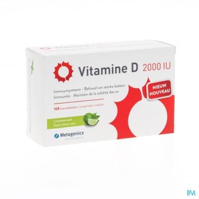 Vitamine D 2000iu Metagenics Tabl 168