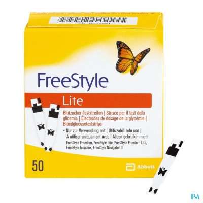 Freestyle Lite 50 strips