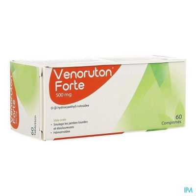VENORUTON FORTE 60 X 500 MG IMPEXECO PIP