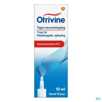 OTRIVINE HYDRAT 1/1000 SPRAY 10 ML