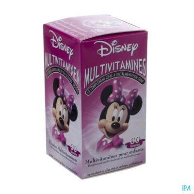 Disney Multivitamines Minnie Mouse 60