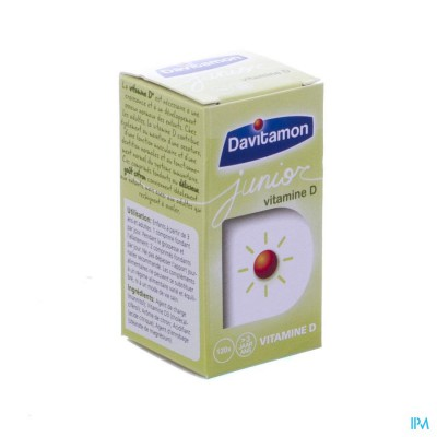 Davitamon Junior Vit D3 120 Smelttab V1