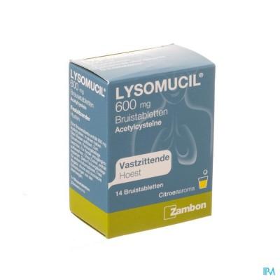Lysomucil 600 Comp Eff 14 X 600mg