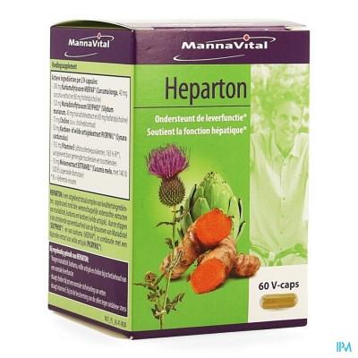 Mannavital Heparton V-caps 60