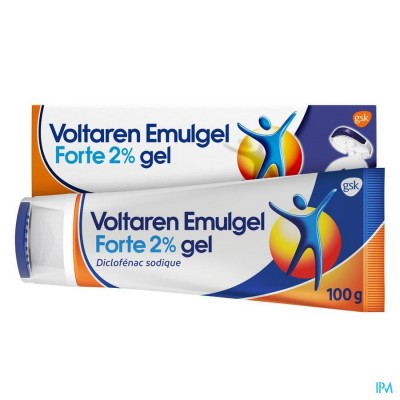 Voltaren Emulgel Forte 2 % Gel 100g New