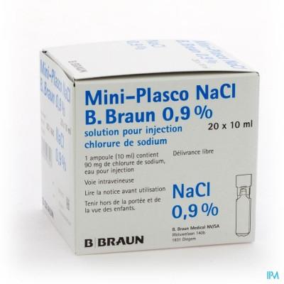 Mini Plasco Nacl 0,9 % Amp20x10ml