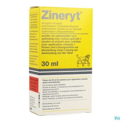 ZINERYT LOTION 30 ML
