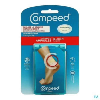 Compeed Pleister Blaren Medium 10