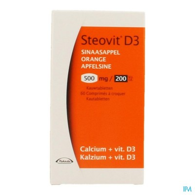STEOVIT D3 500MG/200IE COMP 60
