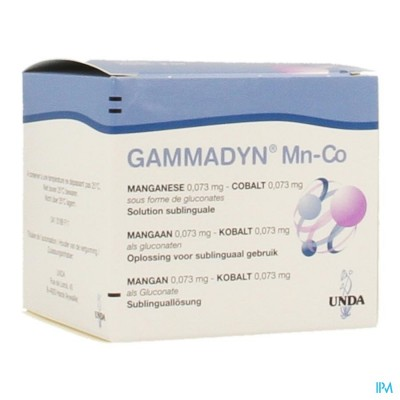 Gammadyn Amp 30 X 2ml Mn-co Unda