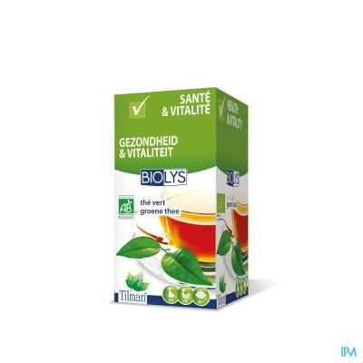 Biolys Groene Thee Bio Tea-bags 20