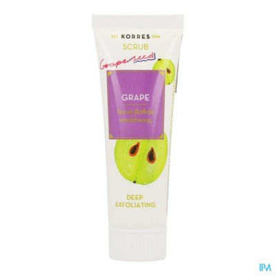Korres Kf Grape Deep Exfoliating Scrub 18ml