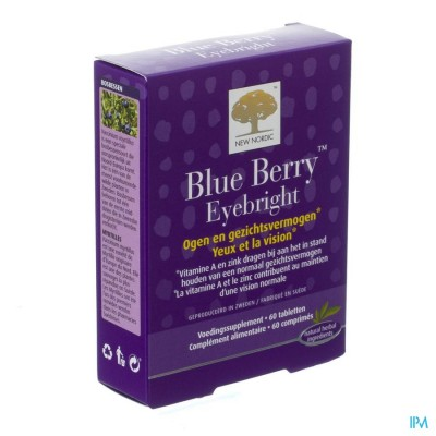 New Nordic Blue Berry Eyebright Comp 60