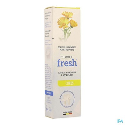 Homeofresh Tandpasta Citroen Tube 75ml