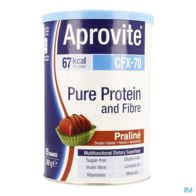 Aprovite Cfx70 Protein Praline Pdr 300g 15 Shakes