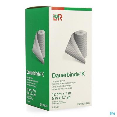 Dauerbinde K 12cm X 7m 1 105906