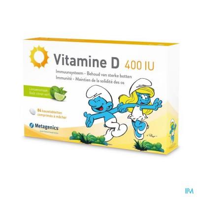Vitamine D 400iu Metagenics Smurfen Comp 168