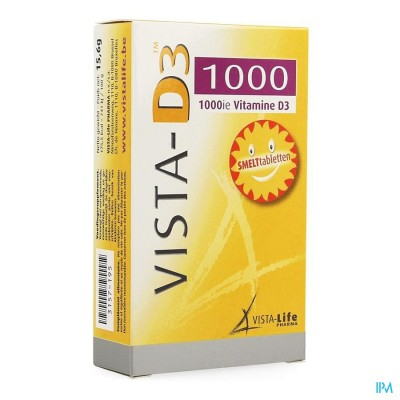 VISTA D3 1000 SMELTTABLETTEN 120