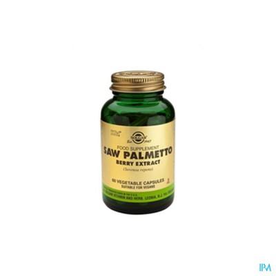 Saw Palmetto Berry Extract (zaagpalm) V-caps 60