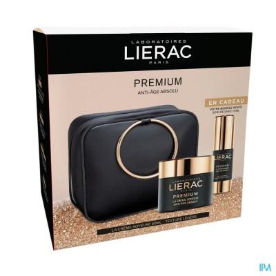 Lierac Koffertje Premium Cr Soy. 50ml+ogen 15ml+et