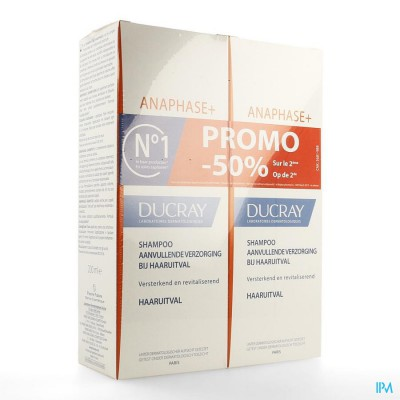 Ducray Anaphase+ Sh 2x200ml