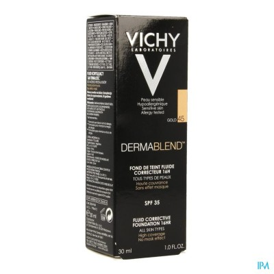 Vichy Fdt Dermablend Fluide 45 Gold 30ml