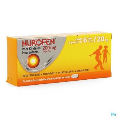 Nurofen Kind 200mg Filmomh Tabl 24 Verv.2475739