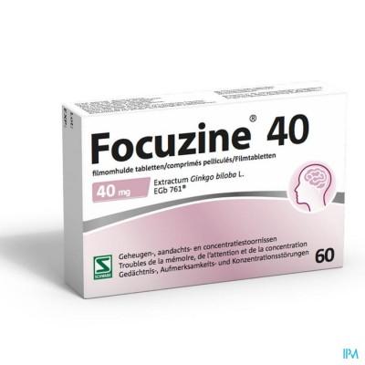 Focuzine® 40 mg 60 tabletten