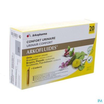 Arkofluide Urinair Comfort Unicadose 20