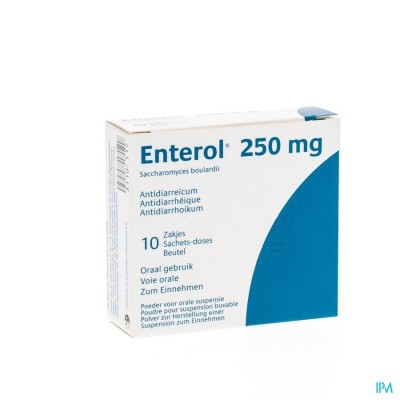 Enterol 250mg Pi Pharma Pdr Zakje 10 X 250mg Pip