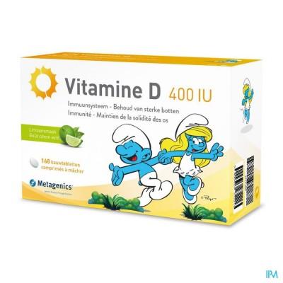 Vitamine D 400iu Metagenics Smurfen Comp 84