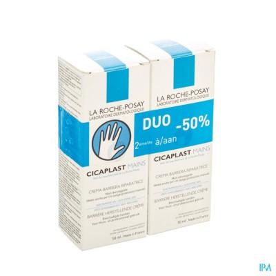 La Roche Posay Cicaplast Handcreme Duo 2x50ml 2e-50%